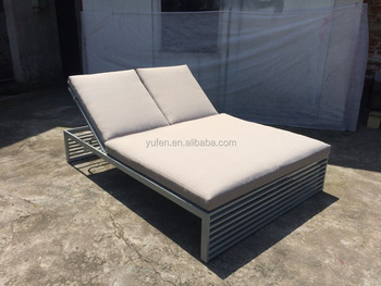 all weather outdoor furniture aluminium sunbed buy. Black Bedroom Furniture Sets. Home Design Ideas