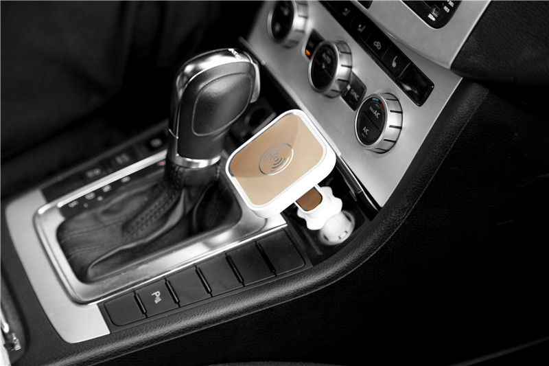 Singapore Hot Selling Qi Magnetic Wireless Car Charger For Iphone - Audi car charger