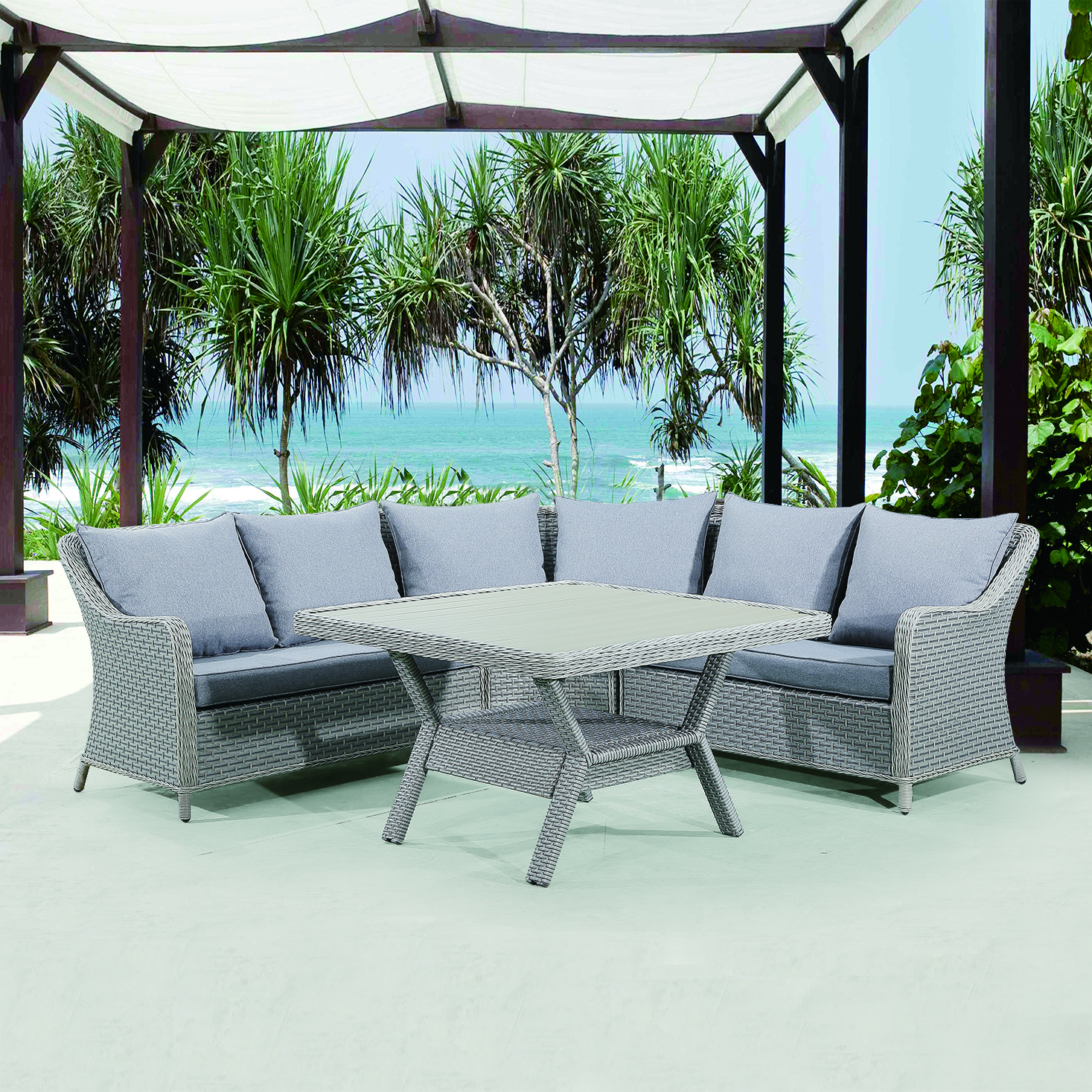 Brilliant Rattan Garden Furniture Outdoor 3 Seater Sofa Buy Outdoor Garden Sofa Garden Sofa Outdoor Sofa Product On Alibaba Com Creativecarmelina Interior Chair Design Creativecarmelinacom