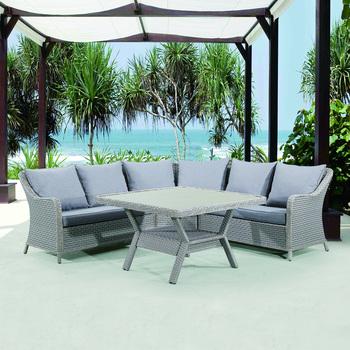 Rattan Garden Furniture Outdoor 3 Seater Sofa - Buy Outdoor Garden  Sofa,Garden Sofa,Outdoor Sofa Product on Alibaba.com