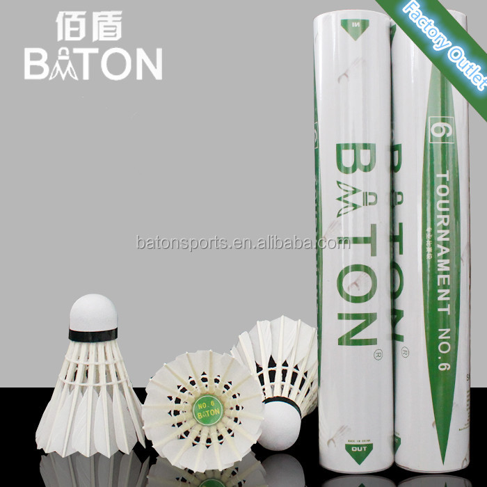 2017 Super cheap and durable youhe s100 badminton shuttlecock hot sale in Malaysia and Canada