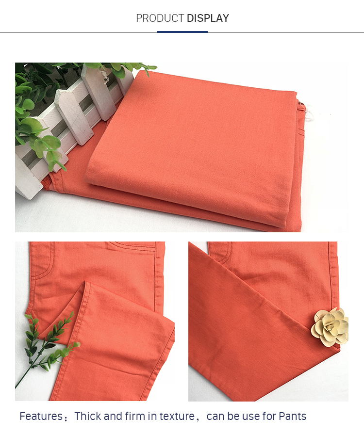 Favourable Price Customized Color Slub Fabric