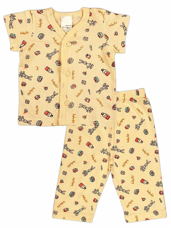 Printed Summer Baby Cotton Night Suit