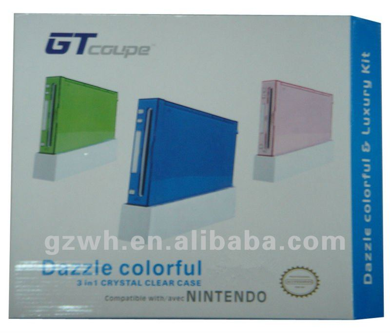 for Game WII 3in 1 Case