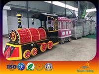 Save your cost amusement Rides electric Trackless Train / Tourist Road Train