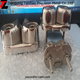 Stainless steel marine boat hardware