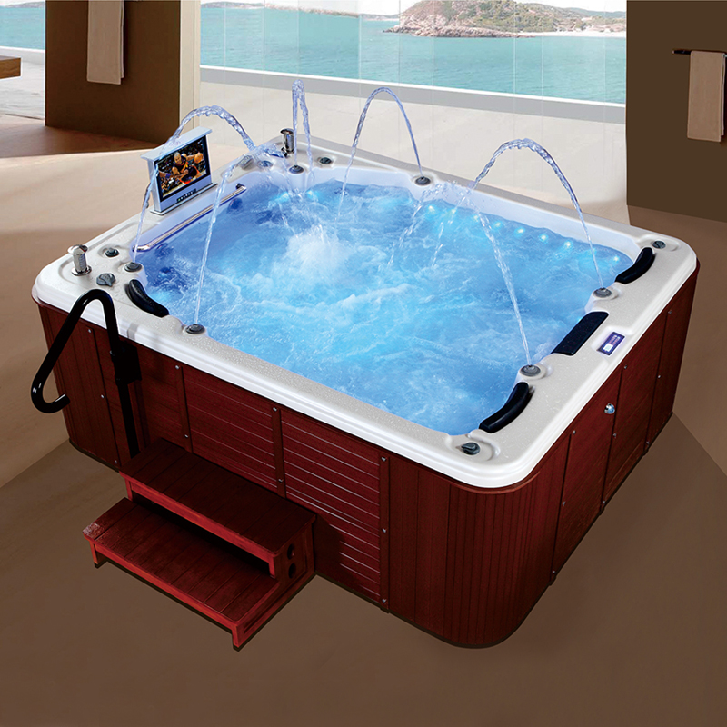 SPA-013 freestanding outdoor spa hot tub,beauty spa,bubble bath spa