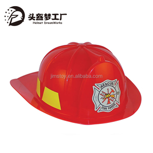 Small Fire Hat with Led Light and Music Wholesale Toy used fire fighting helmet