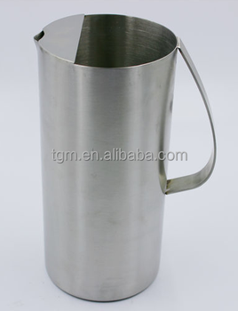 Stainless Steel Water Pitcher With Ice Guard Filter