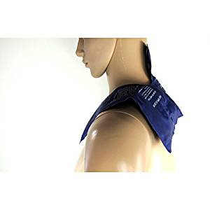 Neck hot cold pack to relief neck pain