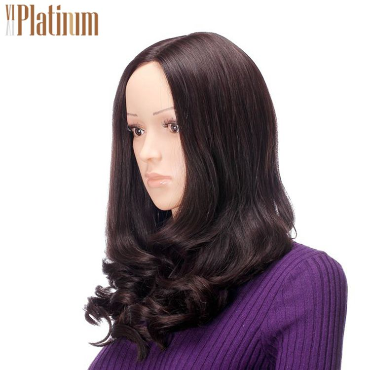 Wholesale multidirectional skin top wavy wigs,jewish kosher human hair lace front wig