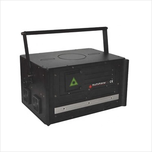5w Full Colors Animation Professional Outdoor DJ Stage Laser PC Show 5000mw RGB Laser Light