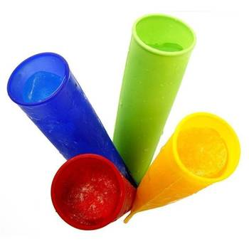 Silicone Ice Pop Molds With Lid