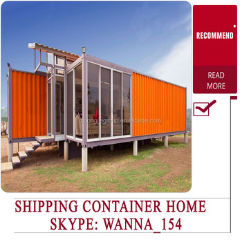 20ft 40ft Modern Prefab Shipping Container Homes Plans House Design