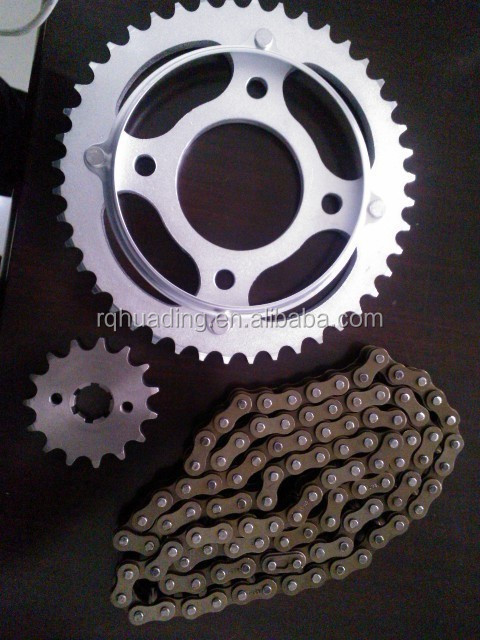 428 CG150/TITAN99 motorcycle sprocket and chain kit transmission