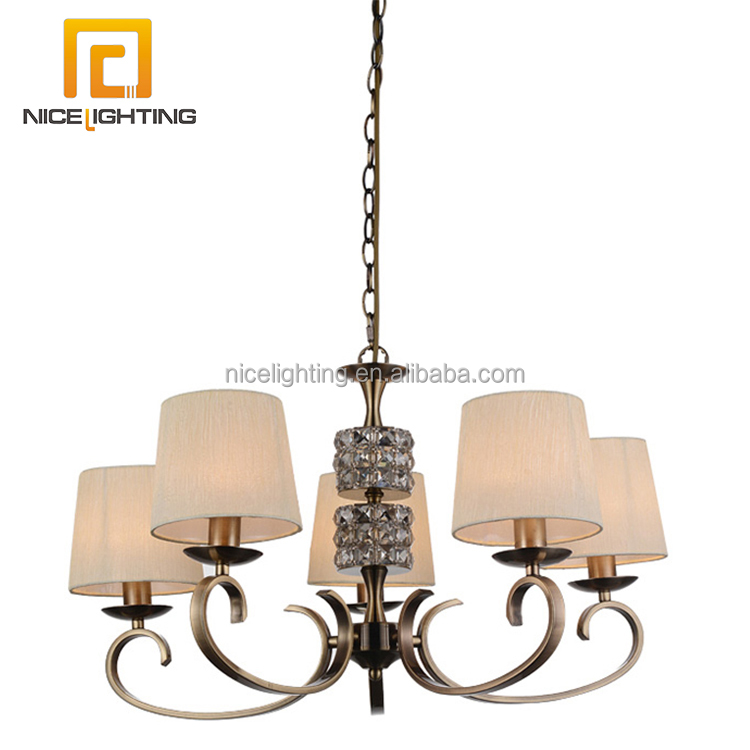 Modern glass pendant ceiling light fixture chandelier without lamp
