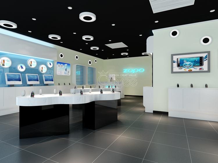 Factory Customized Store Fixture Electronics Shop Counter