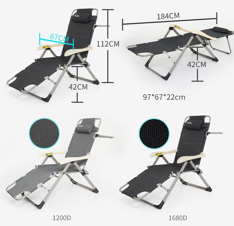 High Quality Lightweight Sun Lounge Chair Outdoor Beach