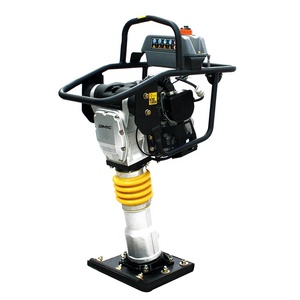 55KG 13KN powerful gasoline vibratory tamping rammer jumping jack rammer machine for Honda gx100