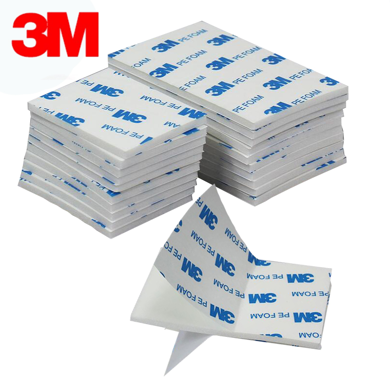 3m distributor fast delivery strong sticky wall hook 3m 1600T white double sided adhesive Pe foam tape