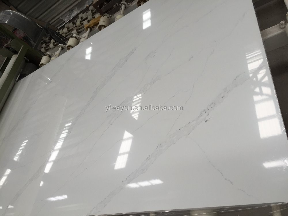 Nature Marble Calacatta Series Quartz Stone Slab