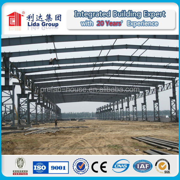 q345 cheap industrial steel structure building prefabricated hall