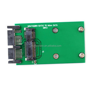 Mini PCIe PCI-e mSATA 3x5cm SSD to 1.8 Micro SATA Adapter