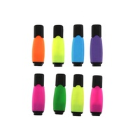 High quality magic fluorescent colored mini fancy marker non-toxic highlighter pen