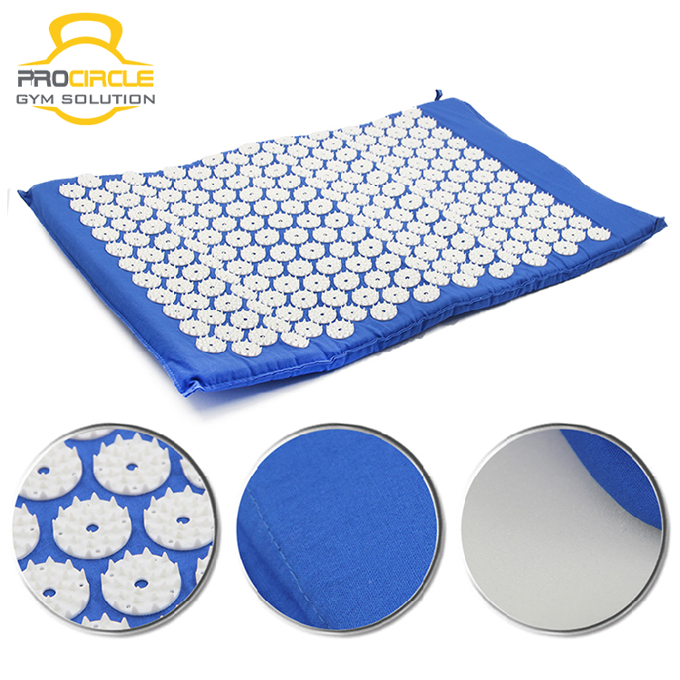 Eco-friendly Health Massage Acupressure Mat And Pillow Set