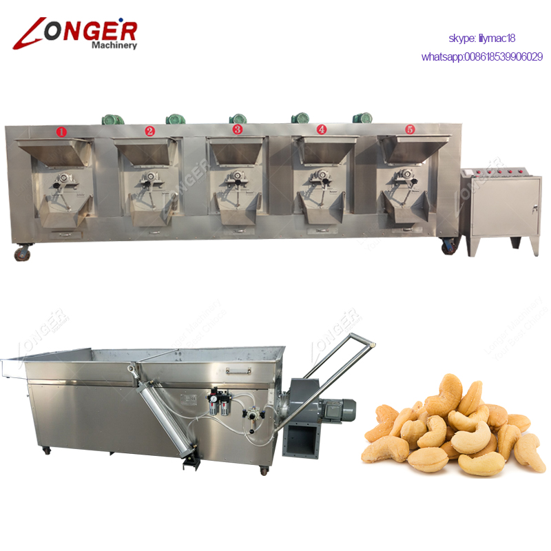 Whole Sale Stainless Steel Multifunction Pine Nut Groundnut Roaster Machine Tea Toaster Soybean Roasting Equipment