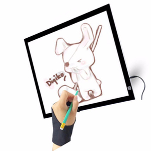 LED Tracing Board A4 Ultrathin Light Weight Easy Carry Portable LED Light Table Animation pattern