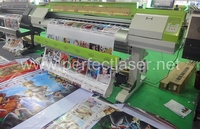 banner ink jet 1.9m eco solvent printer with dual heads