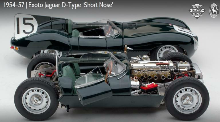 1954 Exoto Jaguar D-type 'short Nose' (88001b) - Buy 1/18 Die Cast Model  Product on Alibaba com
