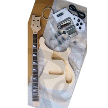 Weifang Rebon 4 string unfinished <span class=keywords><strong>Ricken</strong></span> e-bass kit