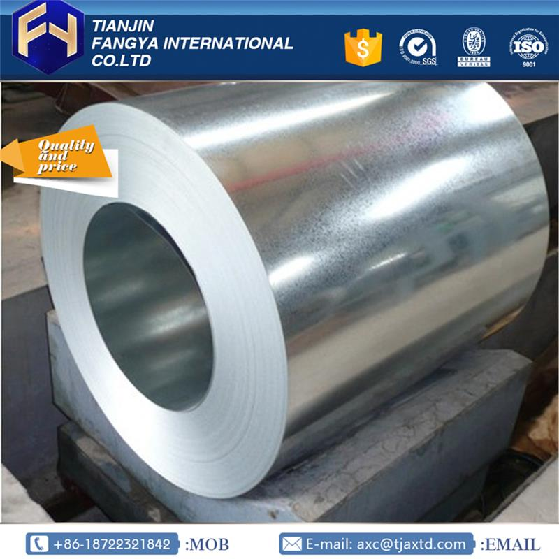 galvanized coils ! tianjin export hot dipped galvanized 18 gauge sheet metal with high quality