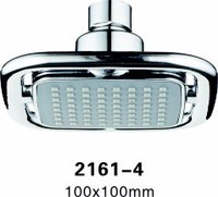 Cixi Hot Sale/Best Selling Elegant Beautiful Small 100mm ABS Plastic Chrome Plated Square Rain Shower/Waterfall Top Shower Head