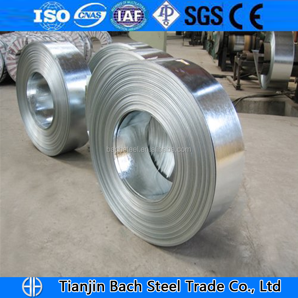 Z40 Steel Strips Coils Galvanised/hdg Gi Strips