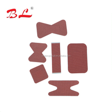 Heavy weight red wound plaster /cotton red fabric band aid