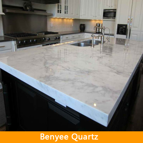 Newstar Fujian Countertop Prefabricated Kitchen Islands Artificial Marble Quartz Production Line