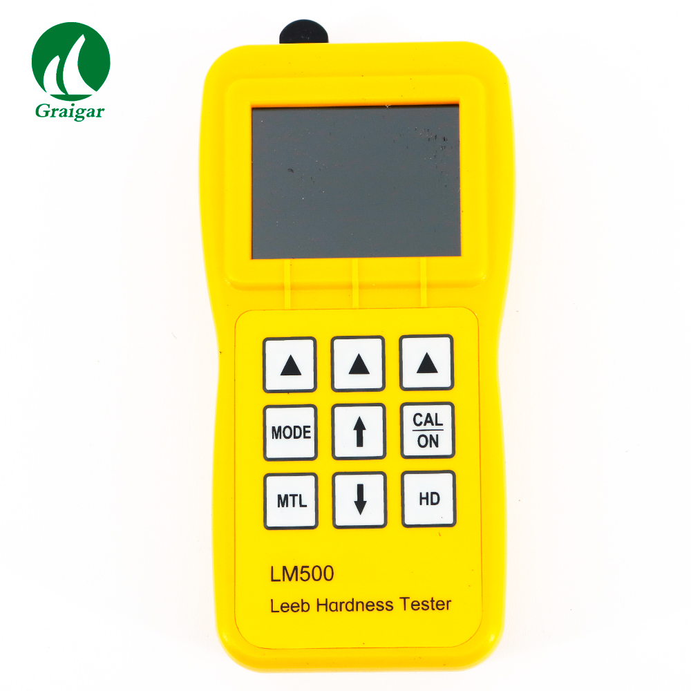 LM500 Leeb Hardness Tester Impact Device (Standard) Interchangeable D/DC/DL Type Impact Device (Optional)