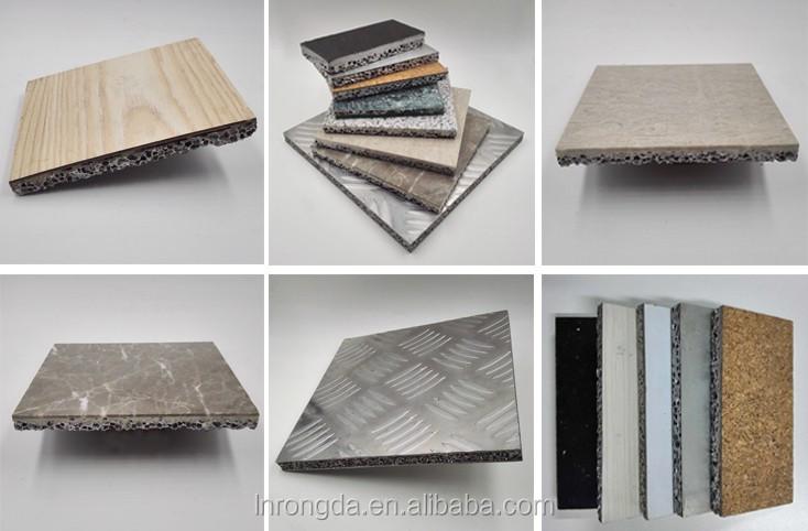 Acoustic closed-cell aluminium foam composite panels