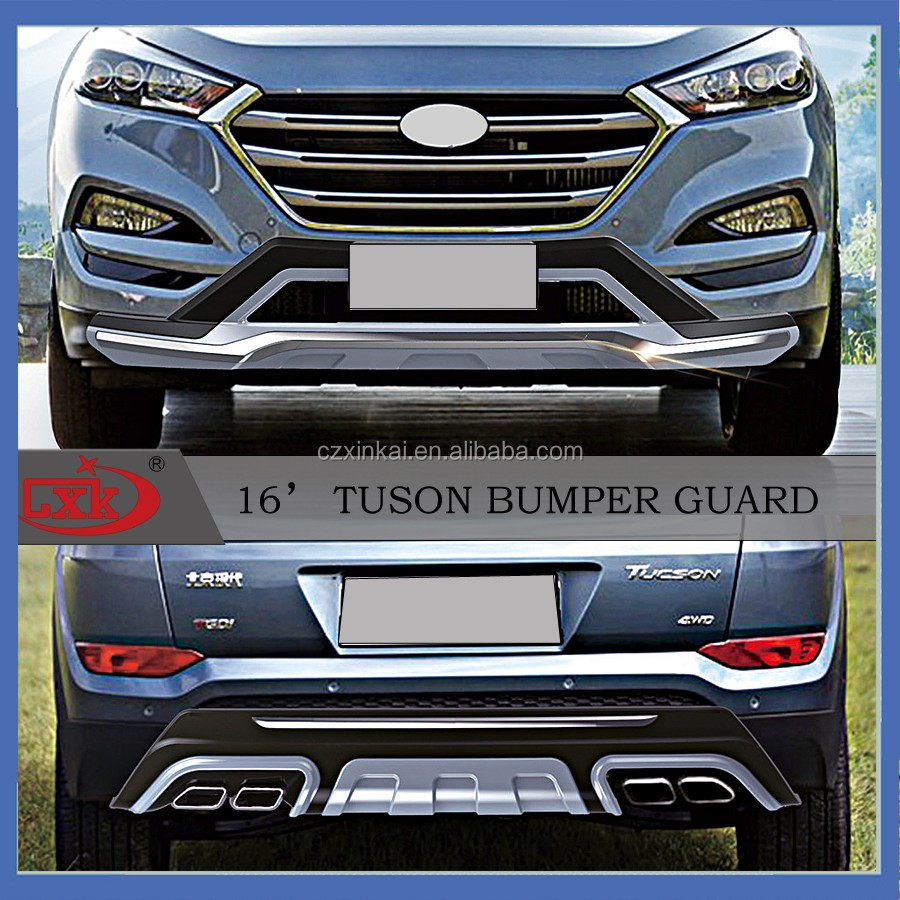 New Product Vehicle Auto Parts Front And Rear Bumper Guard For 2016