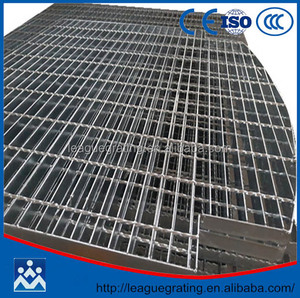China manufacture galvanized steel grating weight