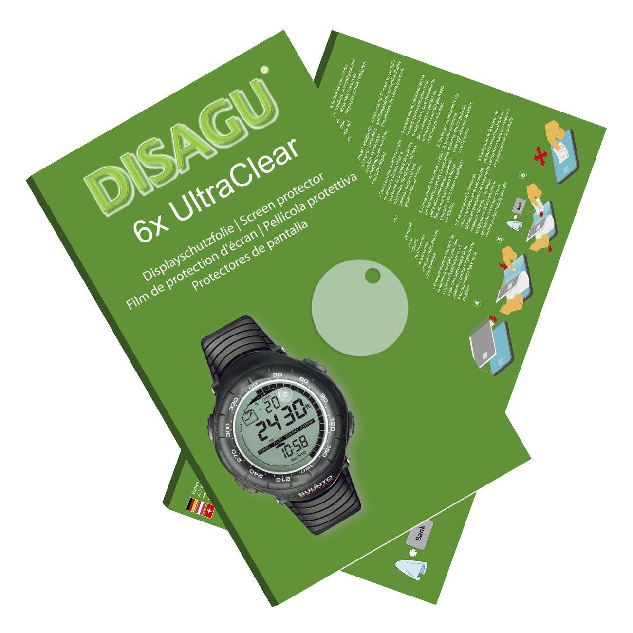 DISAGU 6x Ultra Clear Screen Protector for Suunto Vector