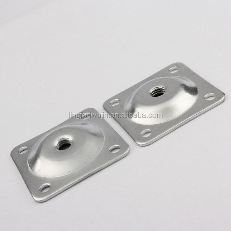 Metal Sofa Legs Leg Table Mounting Plate