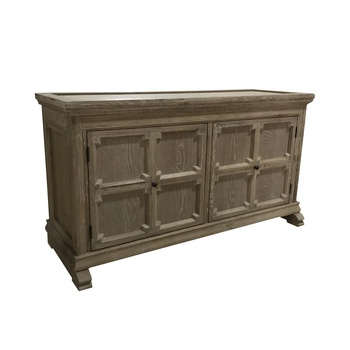 French high quality wood weather American oak sideboard