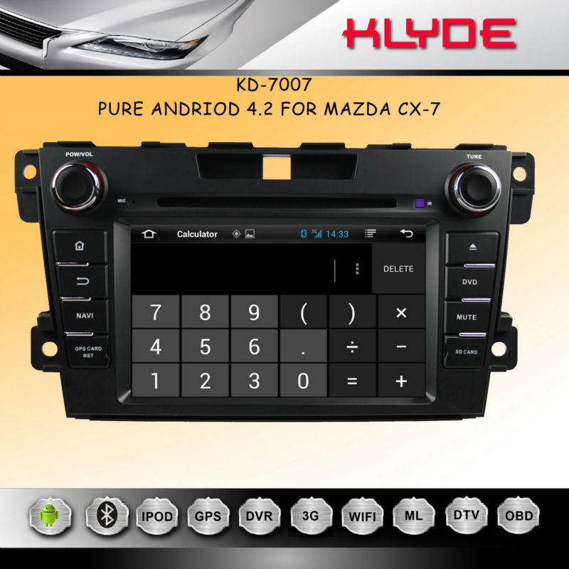 MAZDA CX-7 Car DVD with GPS Navigation,Support BOSE System
