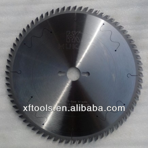 Hukay circular saw blade with silence slot