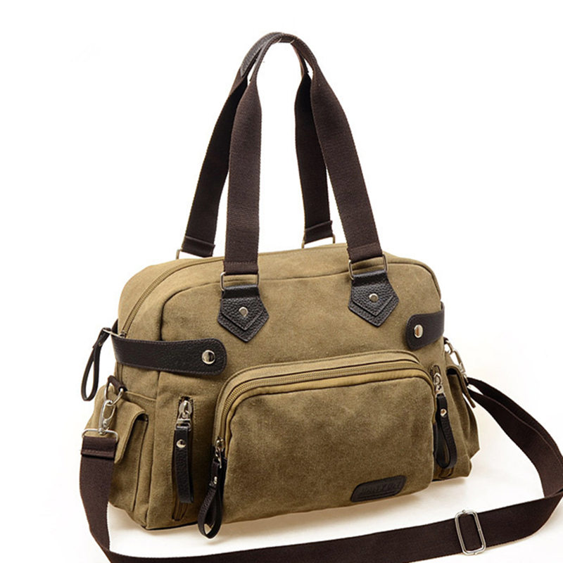 91999f07e5 Get Quotations · 2015 Hot Vintage Large Capacity Canvas Travel Bags Luggage  Sports Shoulder Bags For Men Designer Handbags