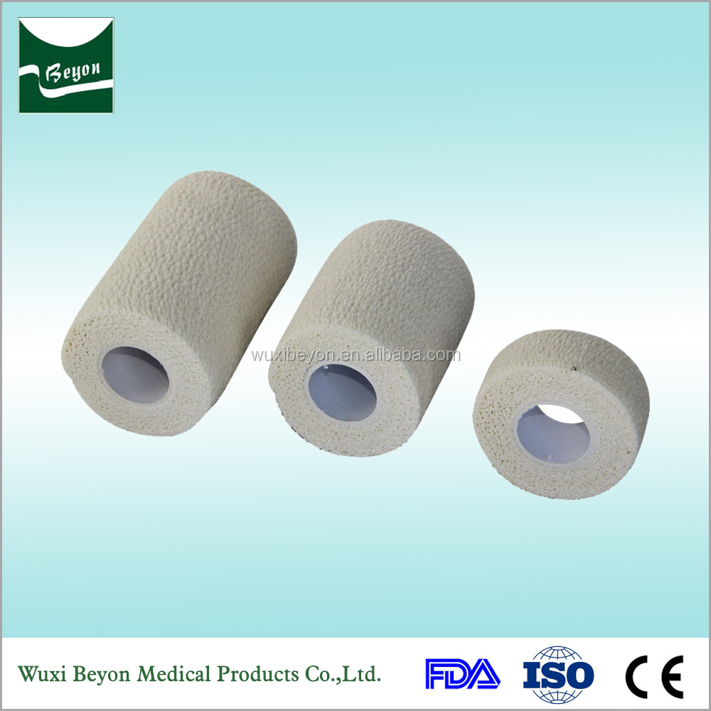 2017 New products on china market Easy tear by hand pro cohesive bandage